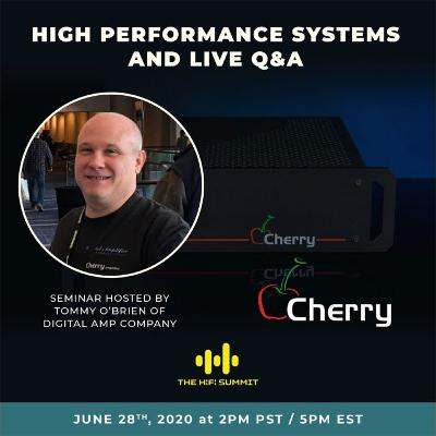 Digital Amplifier Company (Cherry Amplifier)   Simple High Performance Systems   Tommy O'Brien