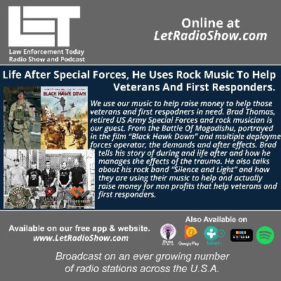 S5E28: Life After Special Forces, He Uses Rock Music To Help Veterans And First Responders.
