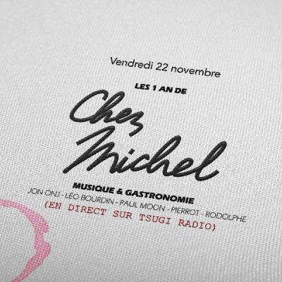 Les 1 an de Chez Michel avec Jon Onj, Léo Bourdin, Paul Moon, Rodolphe Graffin et Pierrot