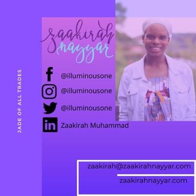 🗣 Learning To Step Outside The Box With Zaakirah Nayyar Muhammad!!💞🦋
