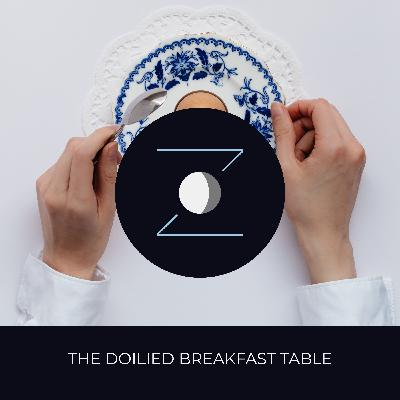 The Doilied Breakfast Table