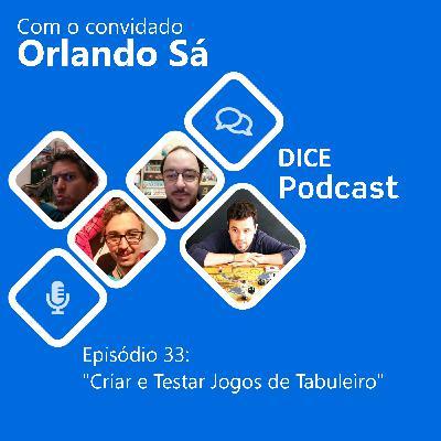 Criar e testar jogos de tabuleiro (com Orlando Sá)