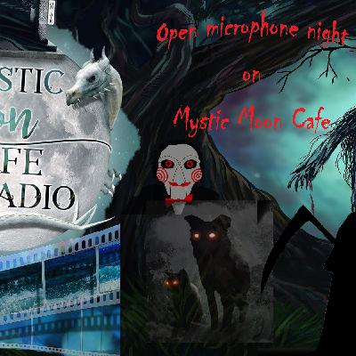 Open Mic Night on Mystic Moon Cafe