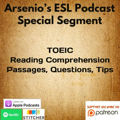 TOEIC | Reading Comprehension | Tips, Questions, & Passages