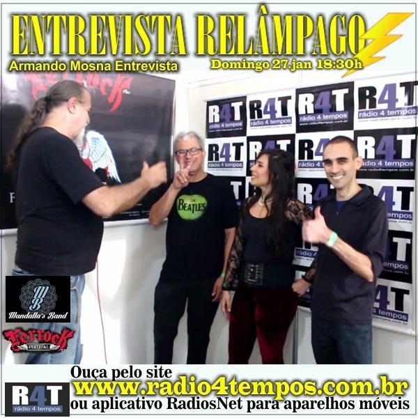 Rádio 4 Tempos - Entrevista Relâmpago 57