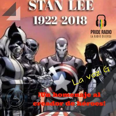 ¡Un homenaje al creador de héroes! STAN LEE 1922-2018