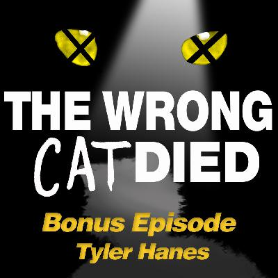 Ep17 - Tyler Hanes, Rum Tum Tugger from the 2016 Broadway revival