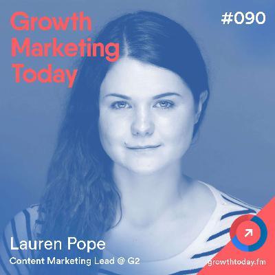 TikTok Marketing 101 with Lauren Pope from G2 (GMT090)