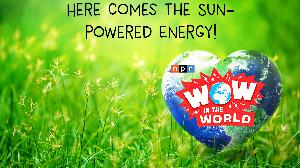 Here Comes The Sun-Powered Energy!