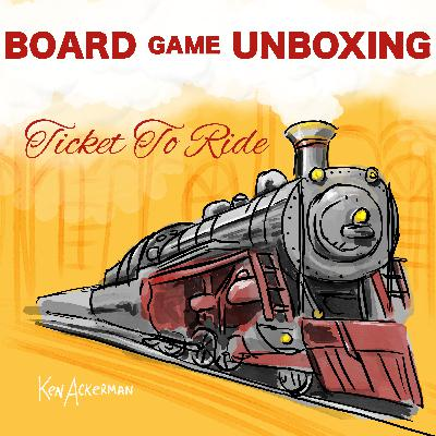 859 - Sleepy Ticket to Ride | Bored Game Unboxing
