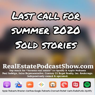 Episode 318: Last Call for Summer 2020 Sold Success Stories