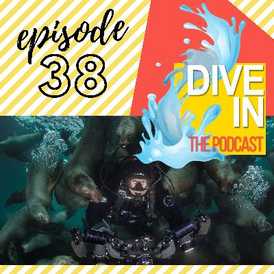 """Episode 38 : """"I've Dove In Some Pretty Weird Stuff"""" with guest Maxwel Hohn"""