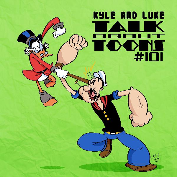 Kyle and Luke Talk About Toons #101: Press a Button and Make a Cartoon Happen