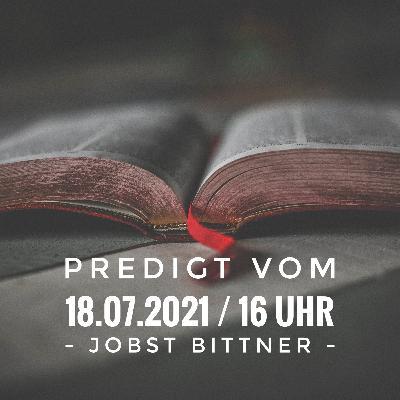 JOBST BITTNER - Die Perfektionismus-Falle / 18.07.2021 / 16 Uhr