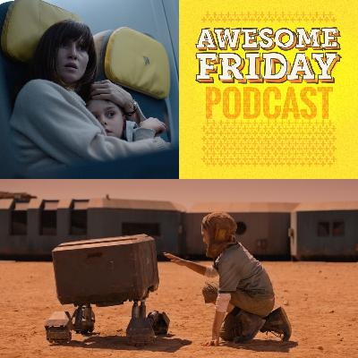 Episode 2: Awesome Friday Movie Podcast: Blood Red Sky & Settlers