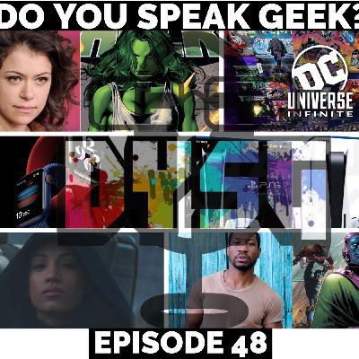 Episode 48 (PS5 Showcase, The Mandalorian Season 2 Trailer, Johnathan Majors, Tatiana Maslany, Apple Times Flies Event and more)