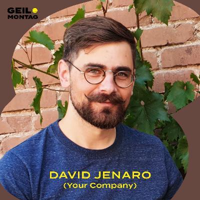 David Jenaro (Your Company): Wie teilt man sich eine Firma?