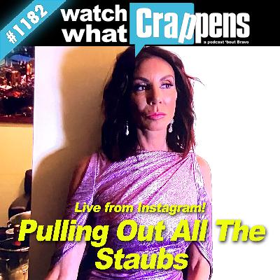 RHONJ: Pulling Out All The Staubs - Live from Instagram!