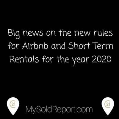 Episode 164: The key 🔑 info on the new AirBnb & Short Term Rentals rules in Toronto for 2020