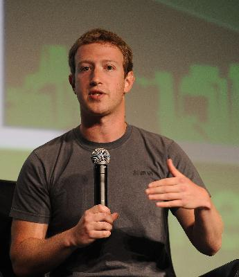 Mark Zuckerberg, Co-Founder of Facebook
