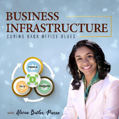 142: How I Scaled the Business Infrastructure Podcast with Alicia Butler Pierre