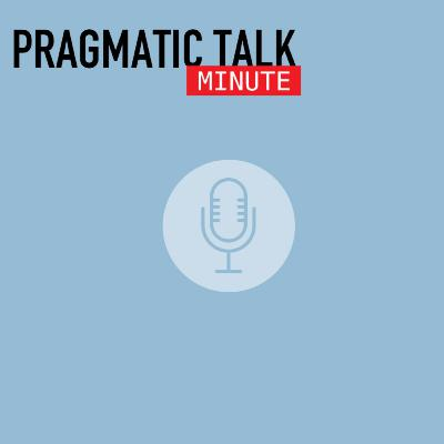 Pragmatic Talk Minute - What is Customer Centricity?