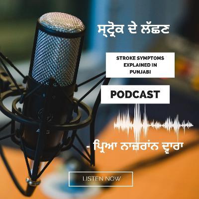 Stroke Symptoms explained in Punjabi