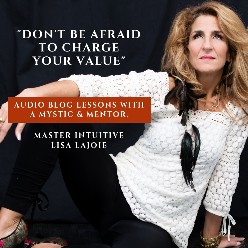 Audio Blog: Don't Be Afraid To Charge Your Value