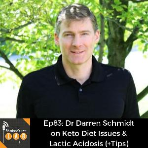 Dr Darren Schmidt on Keto Diet Issues & Lactic Acidosis (Tips)