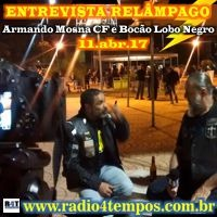 Rádio 4 Tempos - Entrevista Relâmpago 26