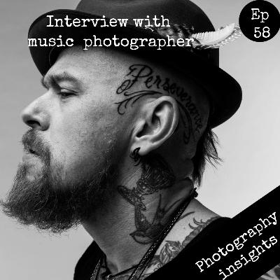 Clay McBride - interview with a music photographer
