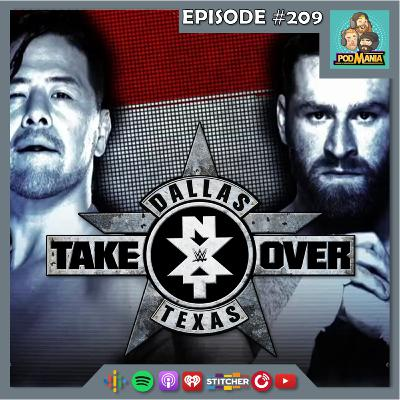 Podmania 209: NXT Takeover: Dallas Watchalong!