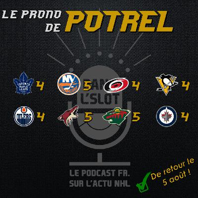 Playoffs NHL 2020 - Les pronos de Potrel (Tour de qualification)