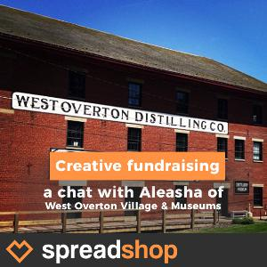 ⭐️ Merch for Non-Profits. An interview with West Overton Village and Museums.