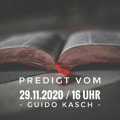 GUIDO KASCH - 29.11.2020 / 16 Uhr