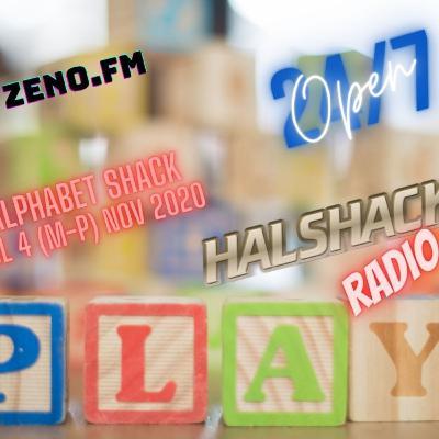 Halshack Ep 20.5 (HALPHABET SHACK) vol 4 (M-P) NOV 2020- bonus