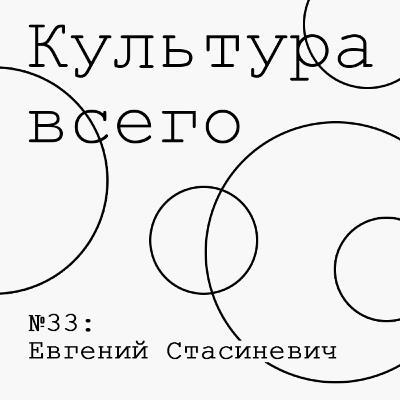 33. Евгений Стасиневич. Культура литературной критики