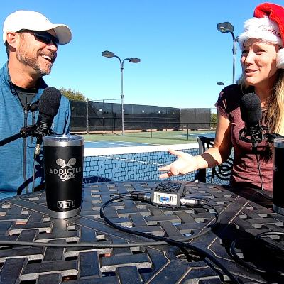 Match preparation...and Merry Christmas from Michelle and Ryan!