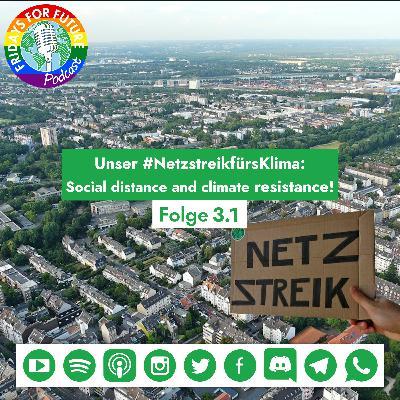 3.1 I Unser Netzstreik: Social distance and climate resistance