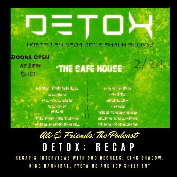 No Ransom Battle League: DETOX : Recap