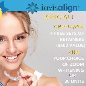Holiday cheer, singing, & INVISALIGN specials with Dr. Amir Daoud