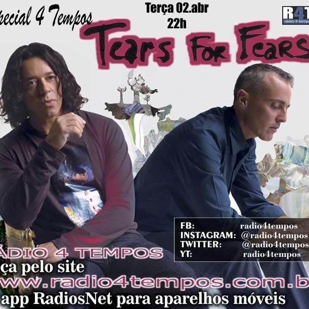 Rádio 4 Tempos - Especial 4 Tempos - Tears for Fears