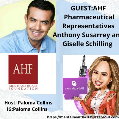 Interview with AHF: Anthony Susarrey and Giselle Schilling