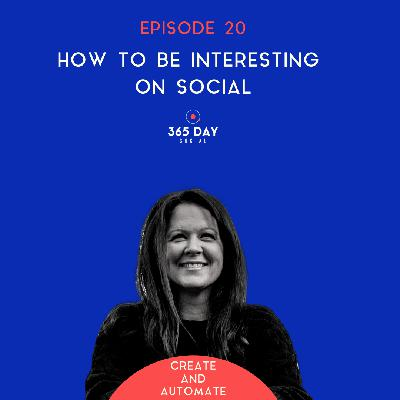 How to be interesting on social | 20