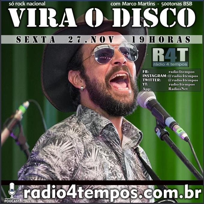 Rádio 4 Tempos - Vira o Disco 81:Marco Martins