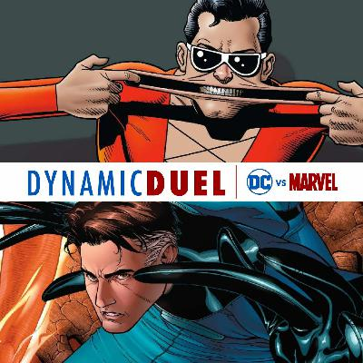 Plastic Man vs Mr. Fantastic