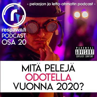 Respawn.fi Podcast, osa 20 feat. Jerry Kurunen – Mitä Ubisoftin pelejä odotella vuonna 2020?