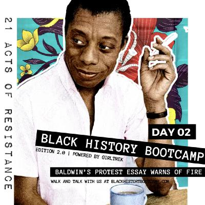 Day 2: James Baldwin Claps Back