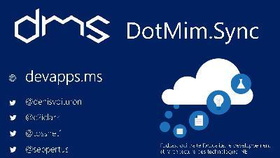 #69 Synchro Database avec Dotmim.Sync