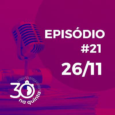 30 Na Quinta | Black friday, logística da amazon e muito mais!